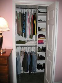 Designs for Small Closets | White Reach in ClosetsSmall ...
