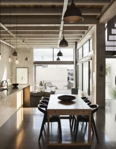 Industrial kitchen style    with architects andrea bell and andrew kissell homes to love also rh pinterest