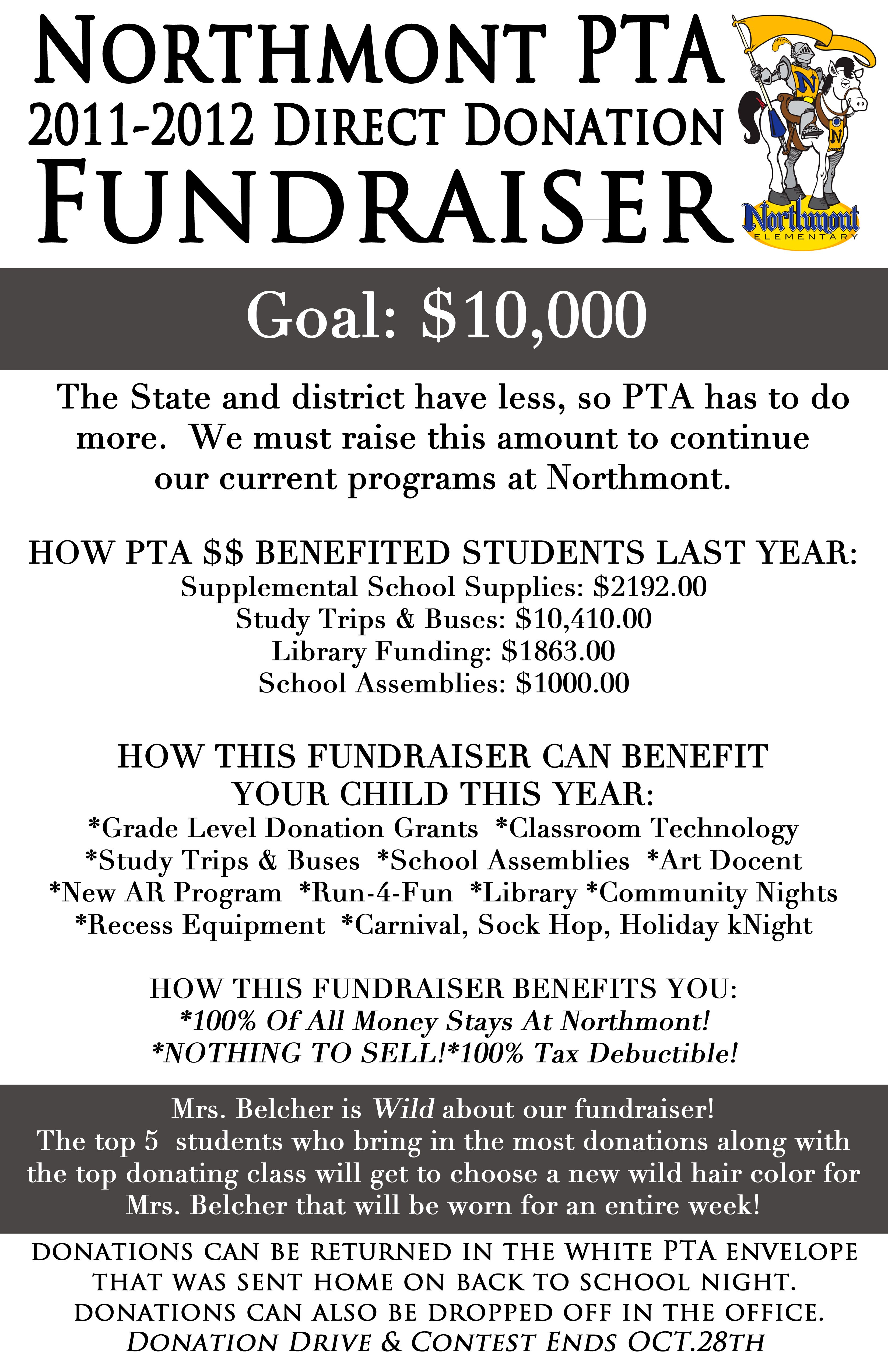Northmont Elementary PTA Direct Donation Fundraiser PTA