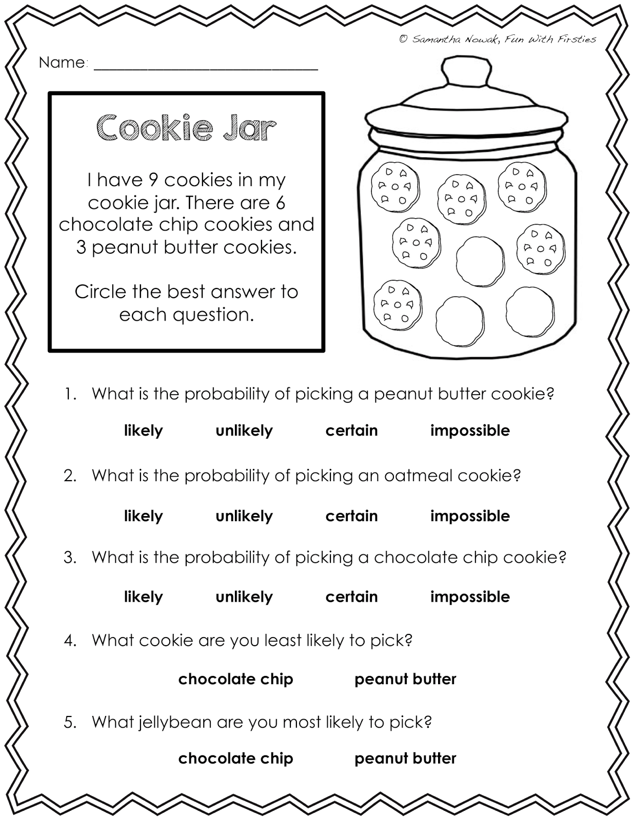 Our Probability Unit Worksheets Activities Lessons And