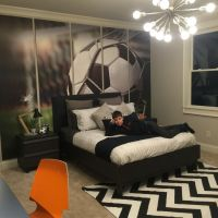 Pre-teen boy, soccer enthusiast bedroom. #preteenbedroom # ...