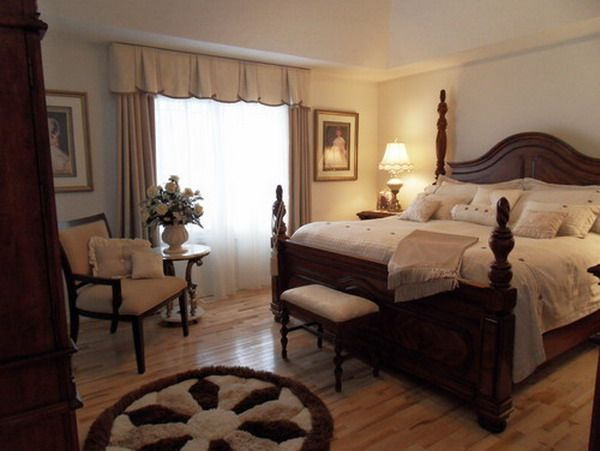 bedroom design ideas in traditional style - home interior design