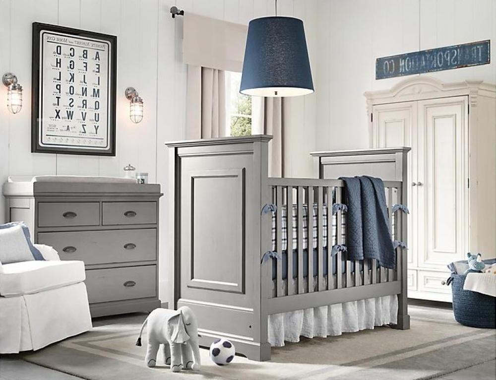 Baby Boy Nursery Grey