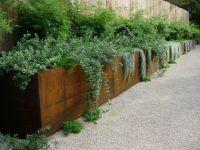 corten steel planters  | Bobolink Reno Inspiration ...