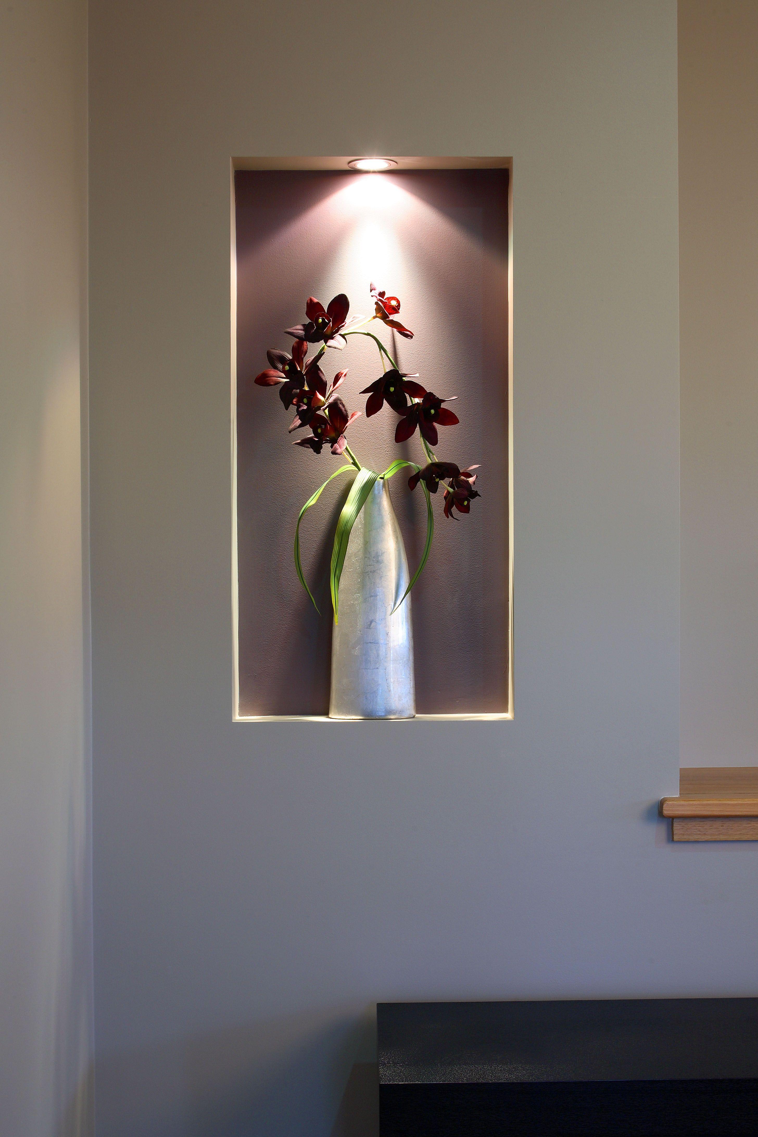 Recessed Lighting Wall Art