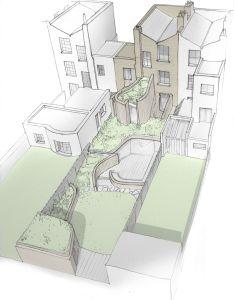 Gallery of de beauvoir house scott architects also modern rh pinterest