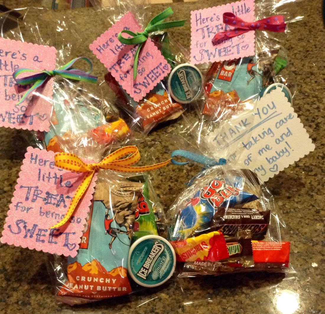 Labor delivery nurse gift heres a little treat for