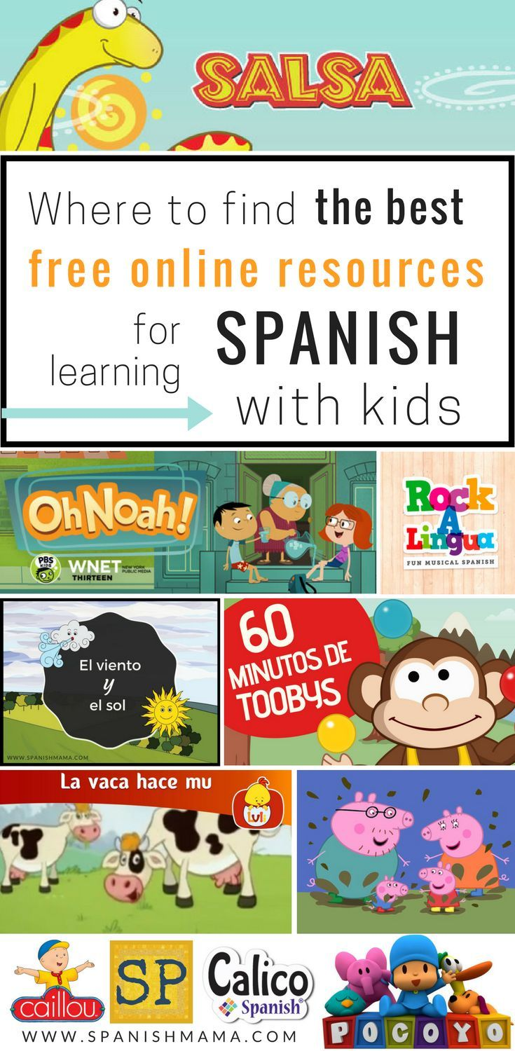 Free Online Spanish Resources for Kids: The Ultimate Guide ...