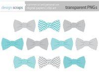 bow tie clip art graphics baby boy ties digital by ...