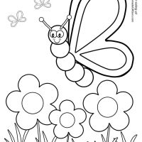 Photos Coloring Pages Printable Spring For Crayola Iphone Full Hd Pics Fitness