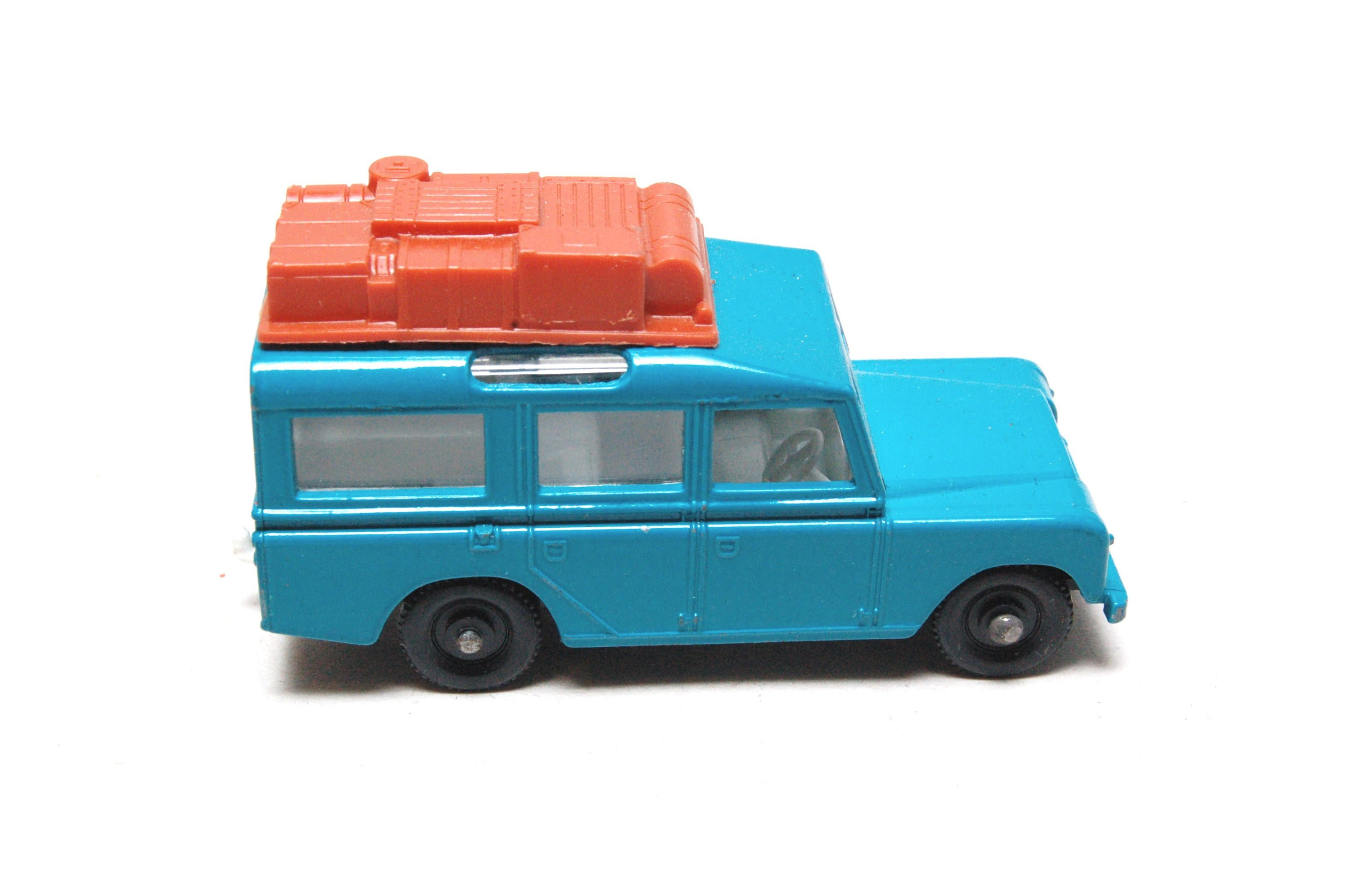 Matchbox Lesney 12 Land Rover Safari Blue 1960 s made in