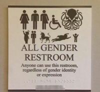 All gender restroom | jokes | Pinterest