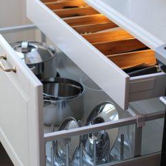 Kitchen Utensil Drawer Organizer Island Design Ideas Jillian Harris Ikea Sektion - Pots, Pans, Lids ...