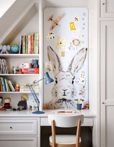 coins bureaux inspirants also martha stewart wallpaper and kids  rh pinterest