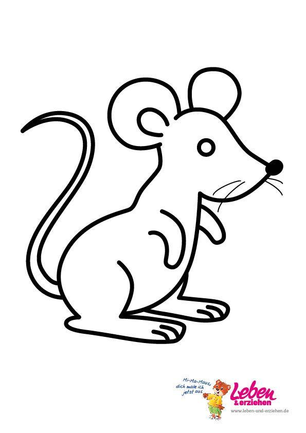Ausmalbilder maus - Ausmalbilder für kinder