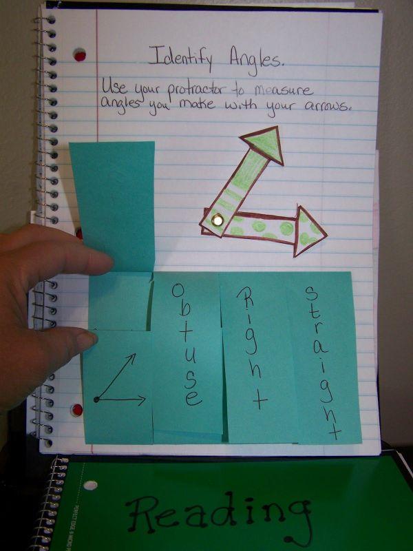 Angle-math Journal Classroom Math Journals