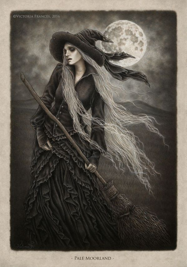 Victoria Frances Art Witch