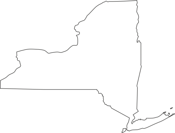New York State Outline New York png outline USA ZIP