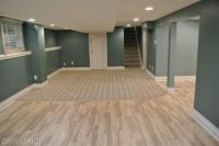 Finished Basement. Color and wood flooring   House ideas ...