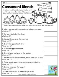 worksheet. Consonant Blend Worksheets. Worksheet Fun ...