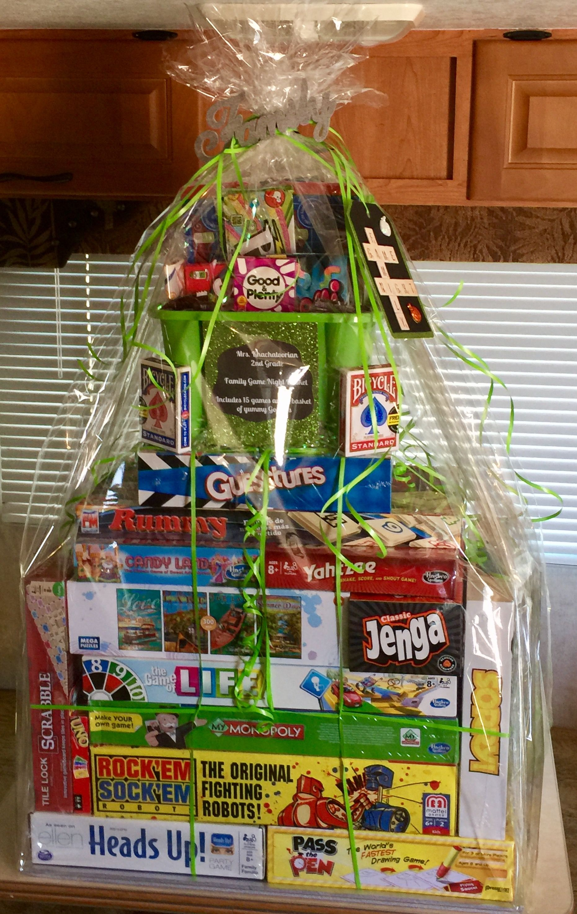 Gift Card Basket Display Ideas