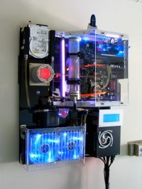 wall mounted pc - Google Search | Computer | Pinterest ...