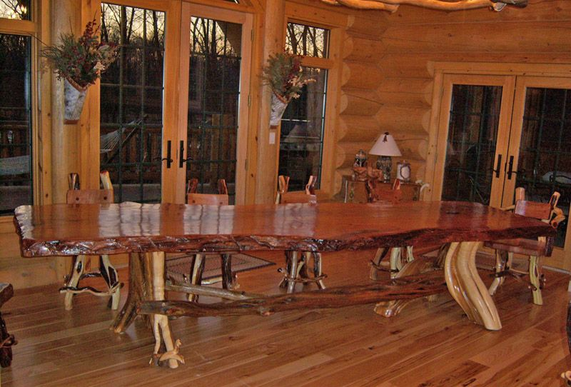 ... Log Furniture Collection Log