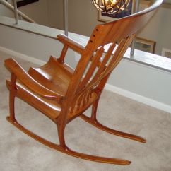 Sam Maloof Rocking Chair Plans Hal Taylor Wicker Folding Chairs Target And Inspired Shown