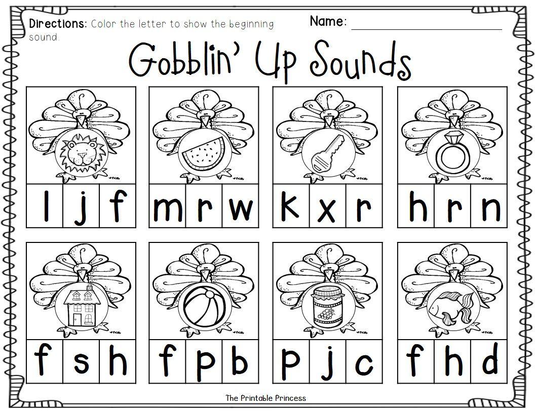 Worksheet Kindergarten Thanksgiving Worksheets Worksheet