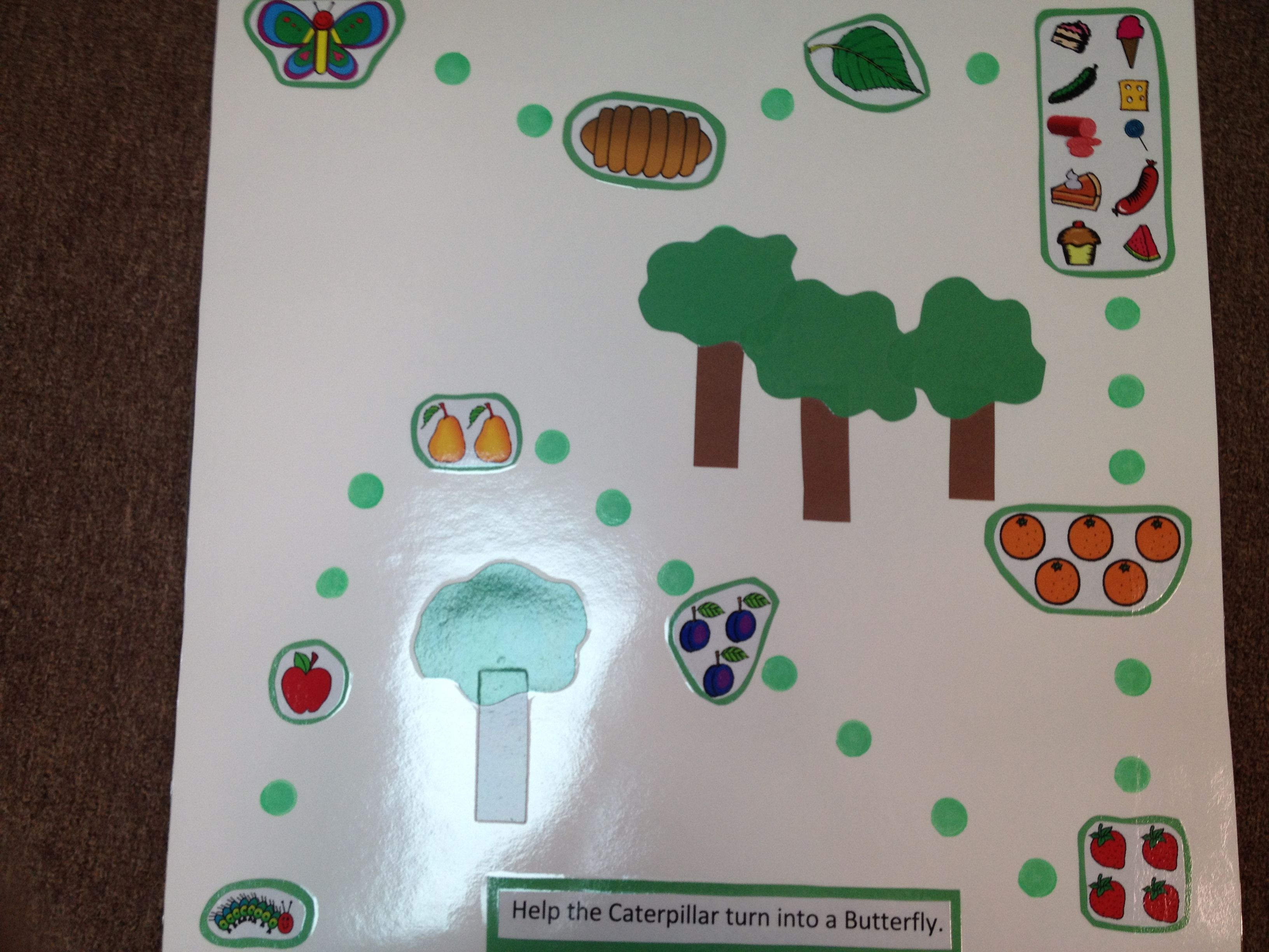 Math The Very Hungry Caterpillar Long Path Game