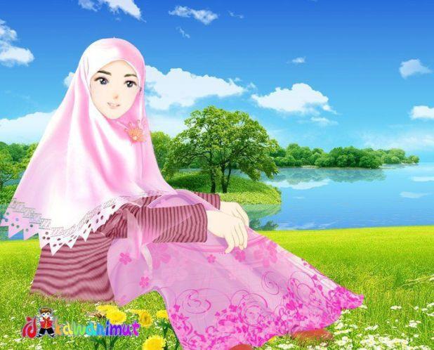 N Gambar Kartun Muslimah Alandblog