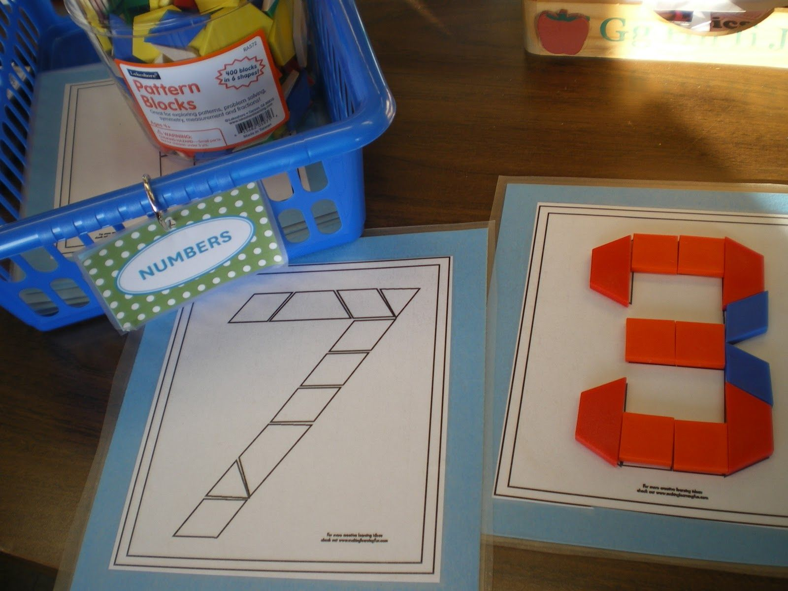 Math Work Stations By Bremer S Kindergarten All Are