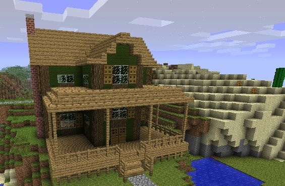 Farmhouse Minecraft Project I Want To Build This Minecraft