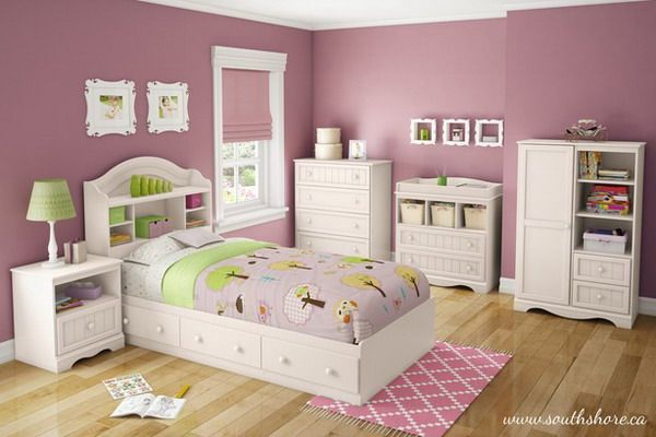 girls bedroom ideas with white bedroom furniture set | �������