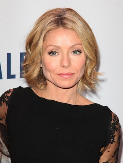 Kelly Ripa Liking This I Saw It A Little Longer In Front And