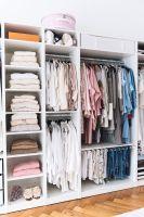 Mein begehbarer Kleiderschrank   Offener kleiderschrank ...