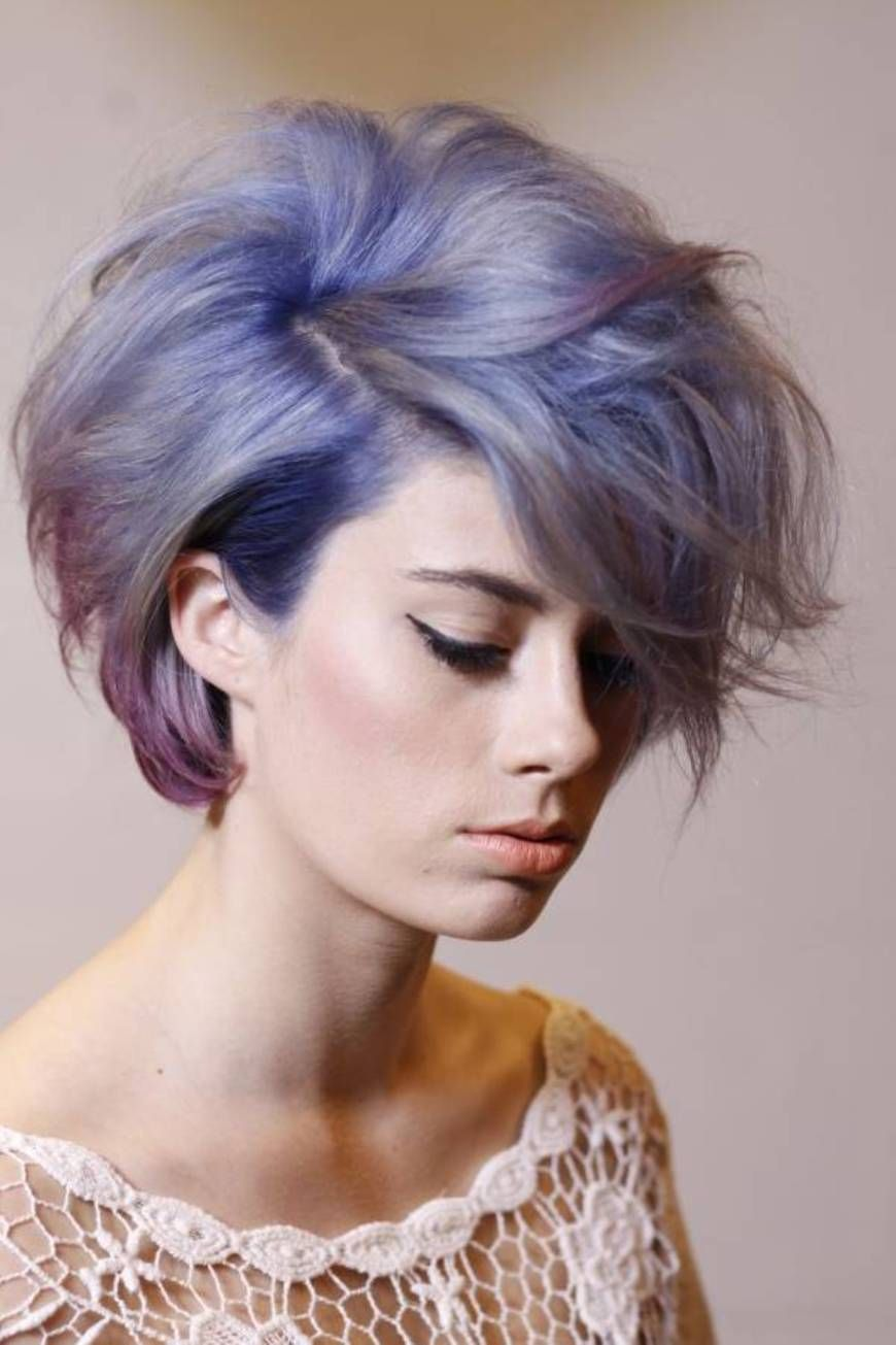 Unique Color Short Haircuts For Women Hairstylee Com