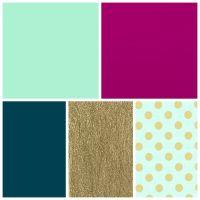 mint, fuschia, dark teal, gold bedroom colors   Bedroom ...