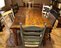 Best 25+ Barn board tables ideas on Pinterest | Barn ...