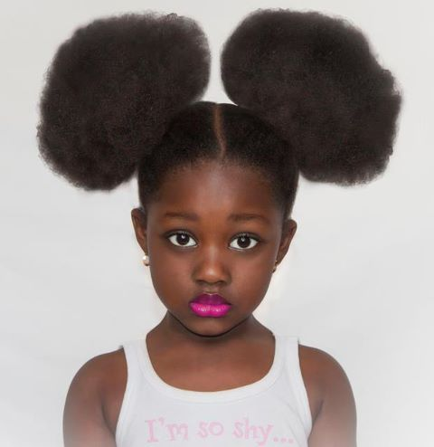 Best Short Natural Hairstyles For Flower Girls African American