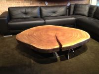 Natural Wood Coffee Table | Ski Lodge - Decor | Pinterest ...