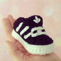 Nike Baby Shoe Crochet Pattern