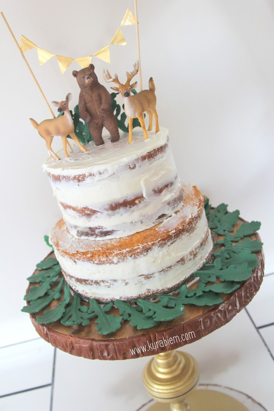 First Birthday Cake Naked Cake Smash Cake Cupcakes