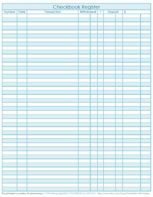All Worksheets  Checkbook Worksheets