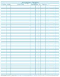 All Worksheets  Checkbook Worksheets - Printable ...