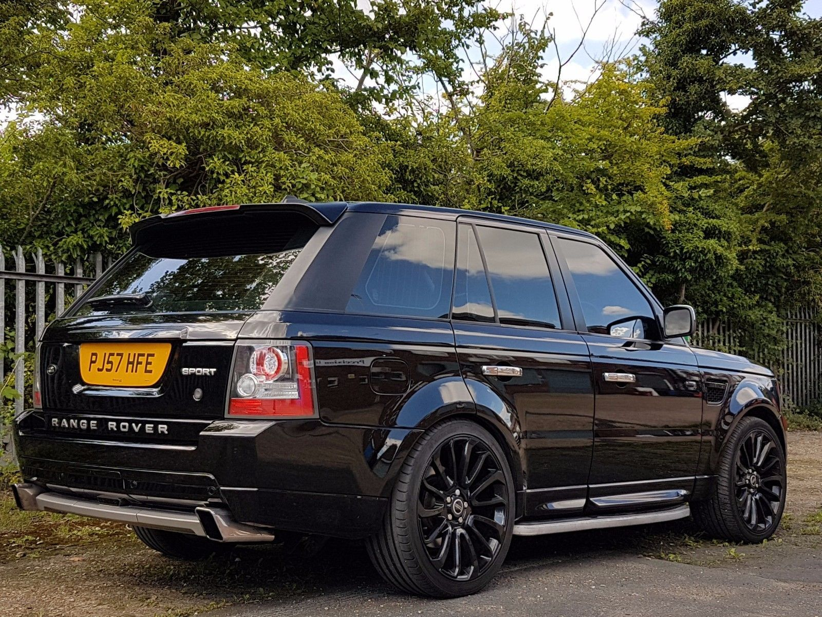 Land Rover Range Rover Sport 3 6TD V8 Twin Turbo 2007 HSE 2012