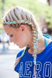 7 super cute game day hairstyles