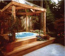 Hot Tub Backyard Ideas
