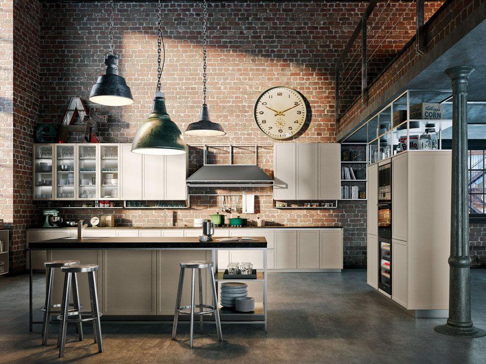 Cucina stile industriale Frame Snaidero  industrial