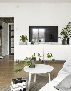 Small one room scandinavian apartment daily dream decor also interior rh pinterest